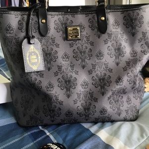 Haunted mansion Dooney and Bourke tote